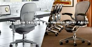 Steelcase-Leap-vs-Aeron